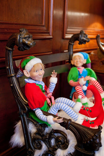 Elves relaxing by Robin LaMonte/Rooms Revamped Interior Design