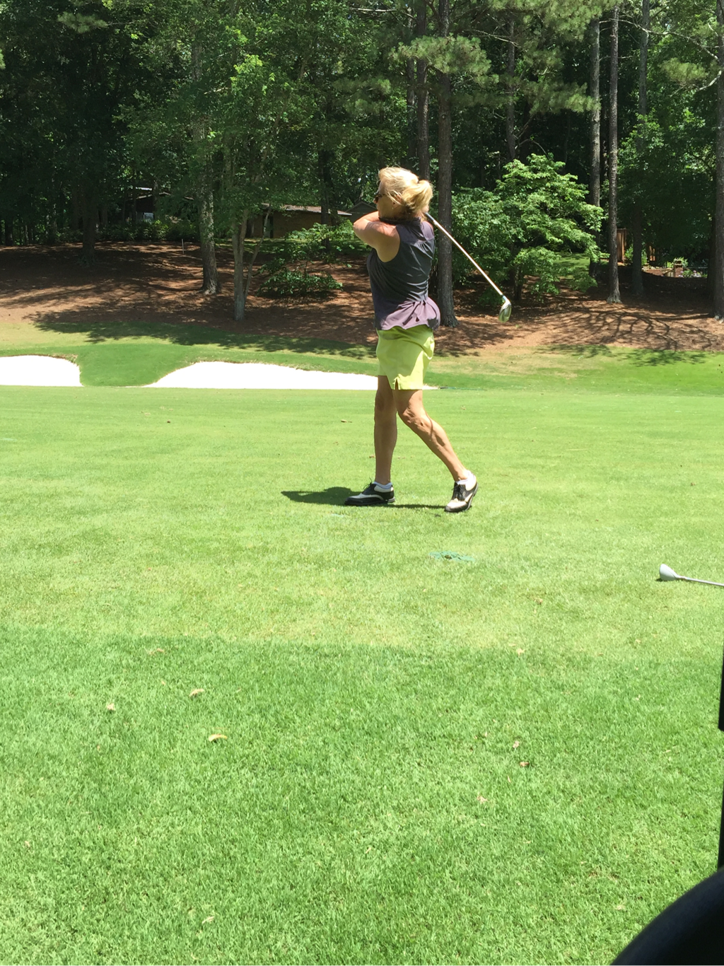Seriously good form.Robin LaMonte playing golf | Over 50 Fitness | Hello I'm 50ish
