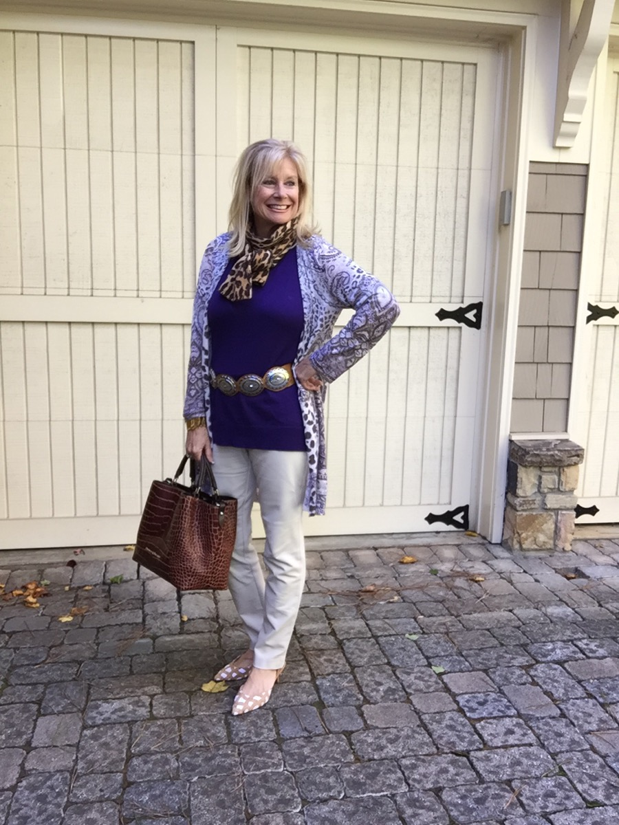 Fashion over 50: 2 Ways to Hide the Aging Neck -Hello I'm 50ish