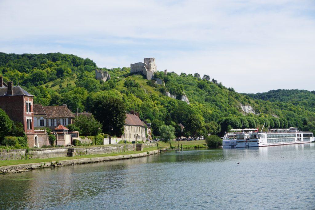 The Seine River Cruise: Les Andelys & Château Gaillard- Hello I'm 50ish