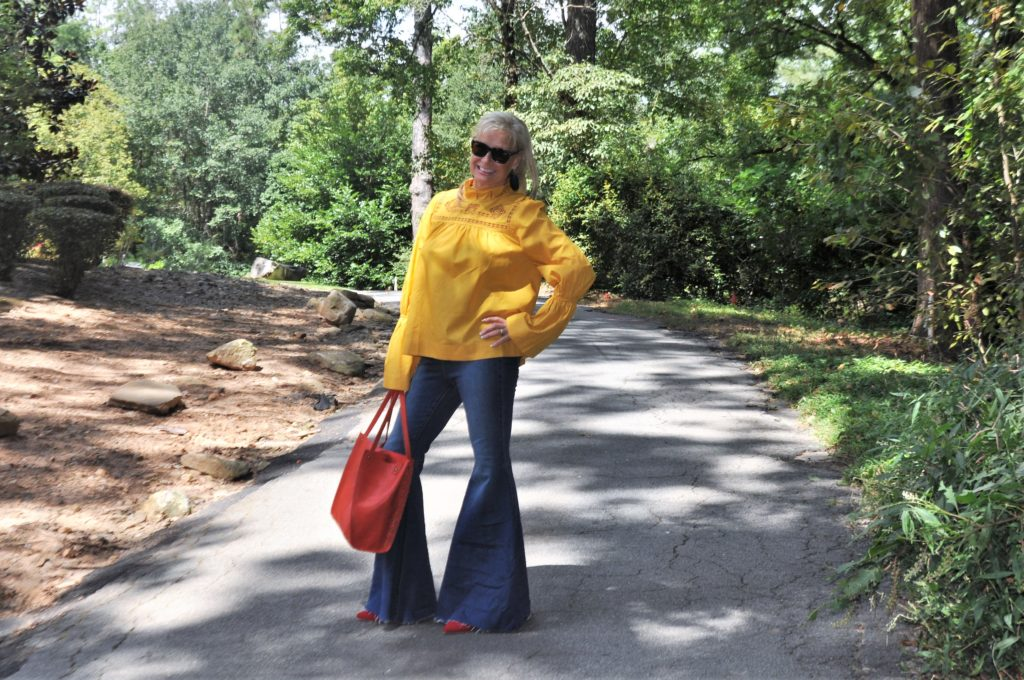 Fall Fashion Preview: I'll have a little Mustard with my Jeans- Hello I'm 50ish