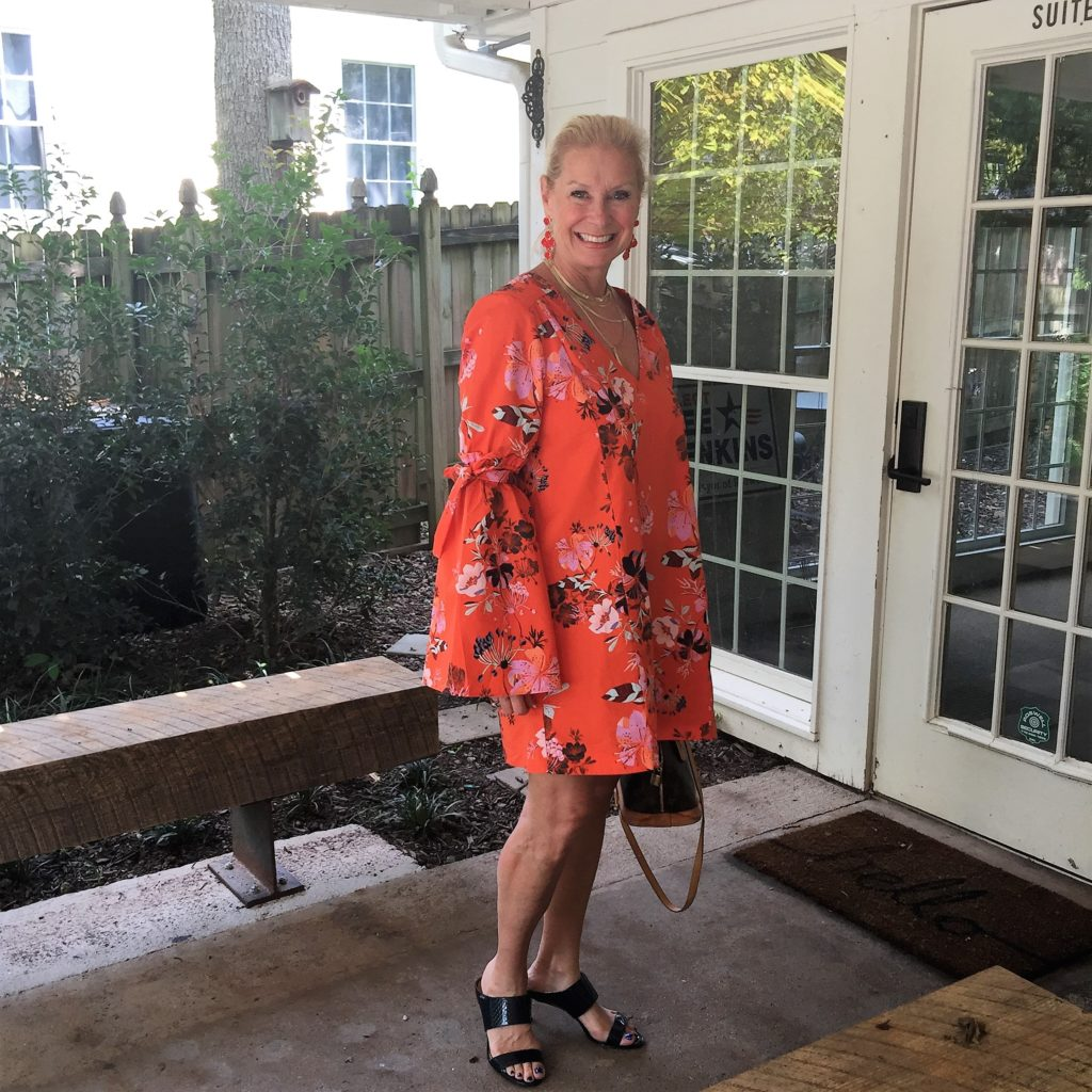 How to Style a Mini Dress- Hello I'm 50ish