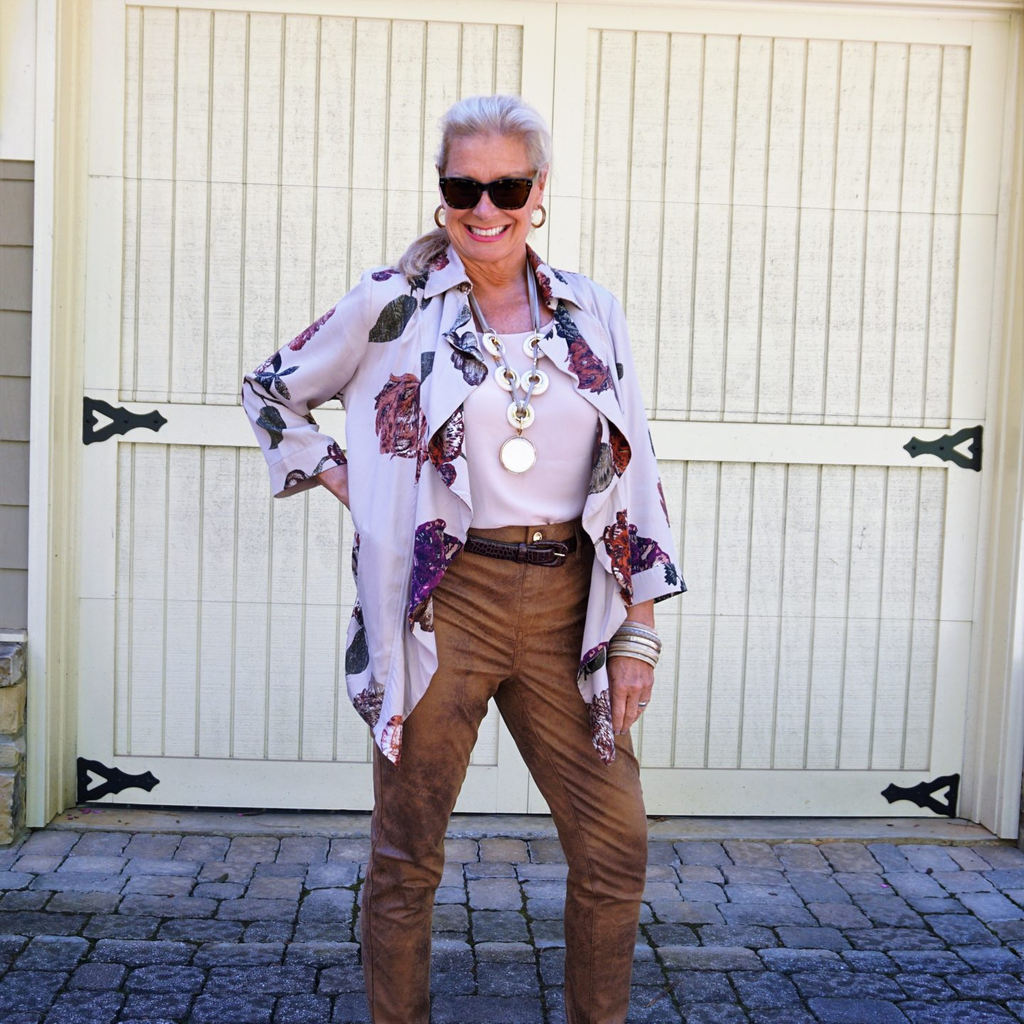 Fall Fashion: Floral and Fabulous Faux from Chico's- Hello I'm 50ish