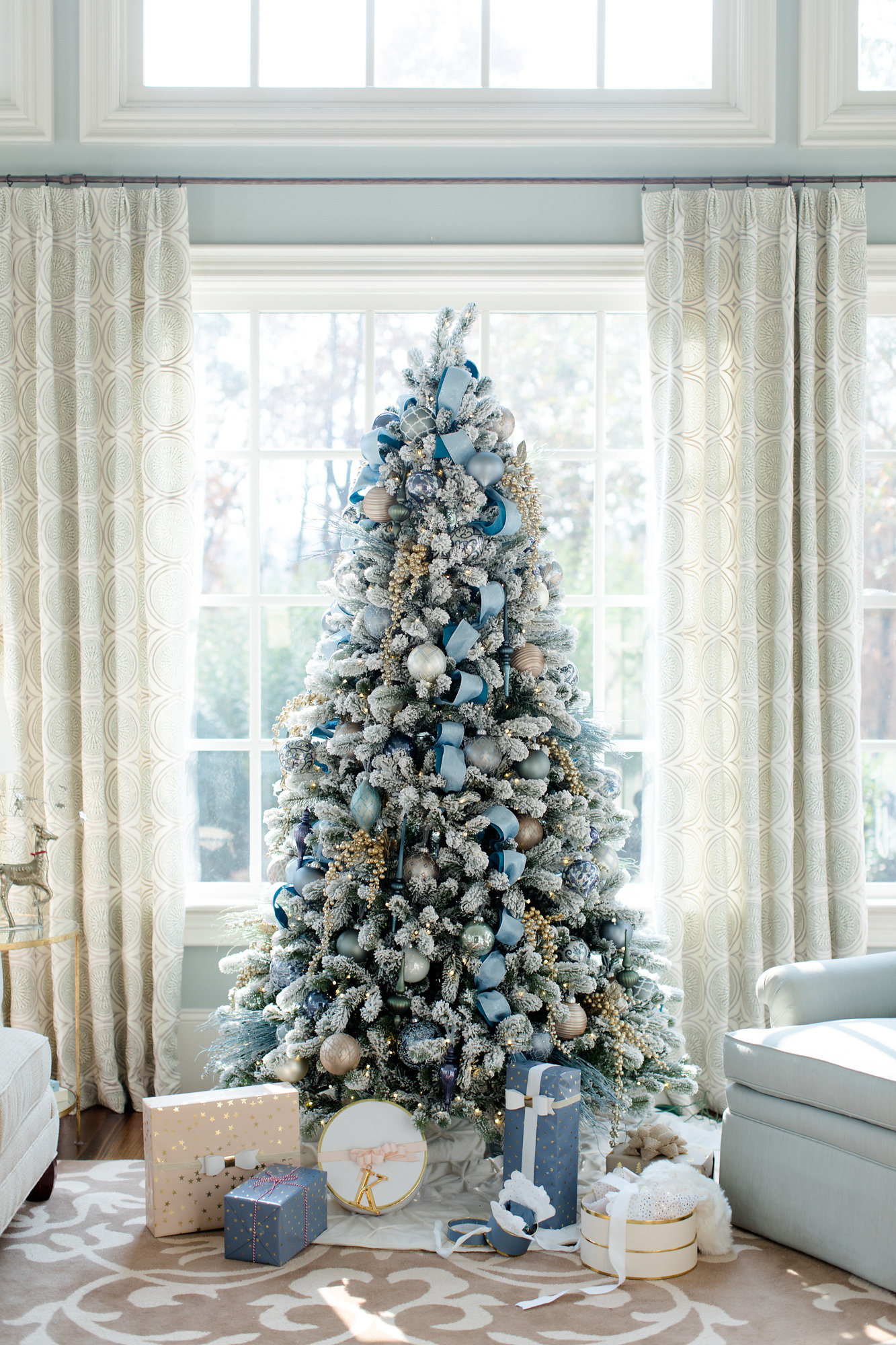 Featured in Elle Decor for Holiday Trees