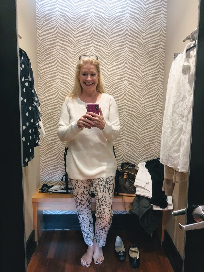 Dressing Room Confessions: Girlfriend Shopping at Chico's-Hello I'm 50ish