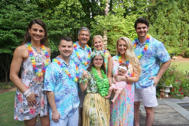 Summer Hawaiian Luau Birthday party
